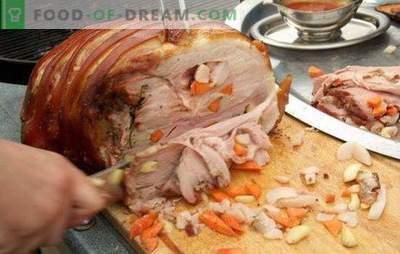 Was man Schweinefleisch schnell zubereiten soll: Tipps und Tricks. Originelle und schnelle Rezepte zum Kochen von Schweinefleischgerichten