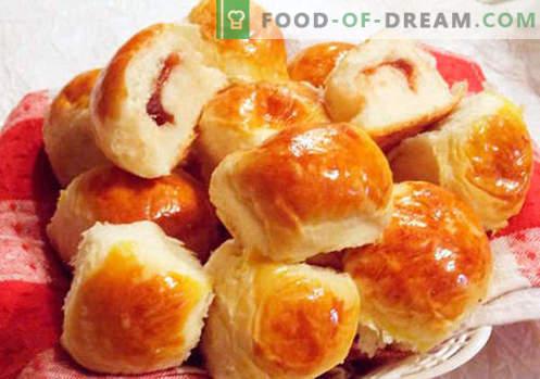 Brötchen mit Marmelade - die besten Rezepte. Wie man richtig und lecker Brötchen mit Marmelade kocht