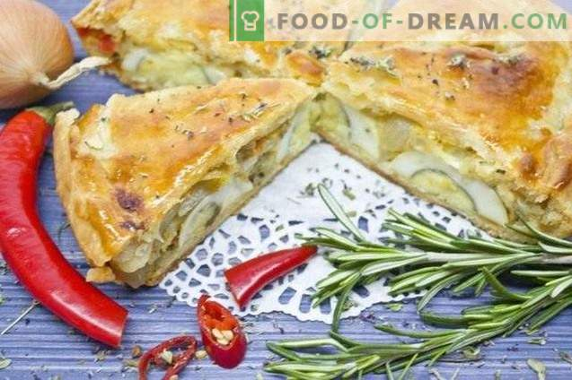 Zwiebelkuchen - klassische Provence