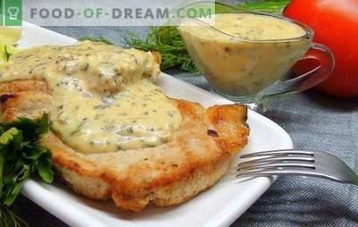 Schweinesteak im Ofen - ein schickes Stück! Rezepte Schweinesteaks im Ofen mit Senf, Sojasauce, Zwiebeln, Kartoffeln und Honig