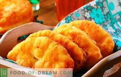 Gebratene Apfelkuchen - klassische und originelle Rezepte. Gebratene Pasteten mit Äpfeln zu kochen, ist eine angenehme Erfahrung