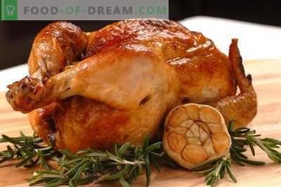 Hühnchen mit Knoblauch - die besten Rezepte. Wie man richtig und lecker Hühnchen mit Knoblauch kocht.