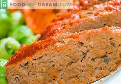 Rindsauflauf - die besten Rezepte. Wie schnell und lecker kochen Souffle vom Rindfleisch.