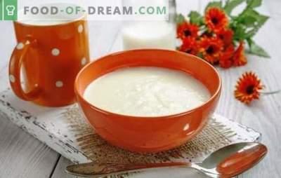Grießbrei auf Milch ohne Klumpen - perfekt! Die besten Rezepte und Geheimnisse des Kochens von Grieß in Milch ohne Klumpen