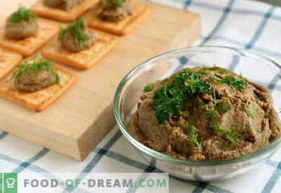 Rinderleberpastete - die besten Rezepte. Wie richtig und lecker kochen Rindfleisch Leberpastete.