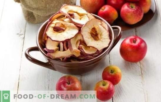 Wie man Äpfel zu Hause trocknet, ist eine einfache Lösung für die Ernte im Sommer. Was kann man aus getrockneten Äpfeln zu Hause kochen?