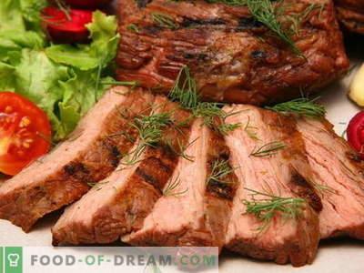 Im Ofen gebackenes Fleisch - die besten Rezepte. Wie man richtig und lecker Fleisch im Ofen kocht.