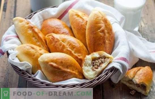 Fleischpasteten (Schritt-für-Schritt-Rezept) sind ein beliebtes Gebäck zum Naschen. Pasteten mit Fleisch, Schritt für Schritt Rezept: im Ofen braten und in einer Pfanne