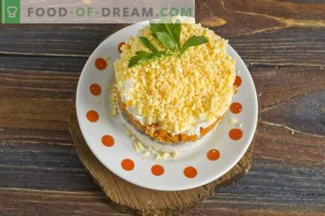 Mimosen-Salat