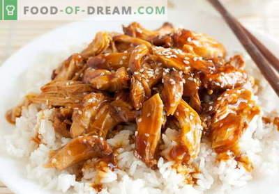 Teriyaki-Hühnchen - die besten Rezepte. Wie man richtig und köstlich Teriyaki-Hähnchen kocht.