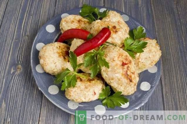 Hähnchenfleischbällchen im Ofen