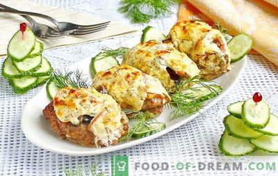 Fleisch auf Französisch mit Hackfleisch - eine neue Version des traditionellen Gerichts. Sechs beste Fleischrezepte auf Französisch mit Hackfleisch