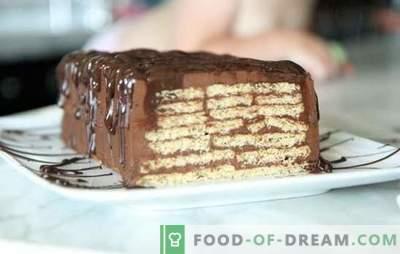 Ein Kuchen ohne Kekse und Kondensmilch backen - in Minuten! Wie man aus Keksen und Kondensmilch einen Kuchen backt, ohne zu backen