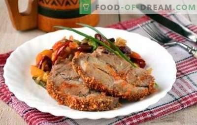 Pieczony kawałek wieprzowiny w piekarniku - dużo mięsa się nie dzieje! Różne przepisy na aromatyczny i smaczny pieczony kawałek wieprzowiny w piekarniku