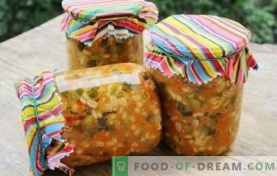 Gurken mit Perlgraupen für den Winter: Fertiggarnierung und Halbzeug für Pickles. 8 beste Rezepte für Gurken mit Gerste für den Winter