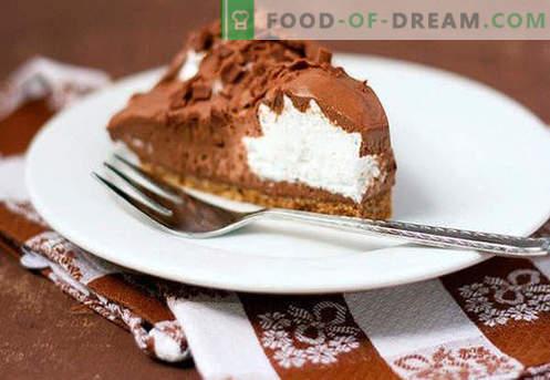 Cake Mousse - die besten Rezepte. Wie man richtig und lecker Kuchenmousse kocht.