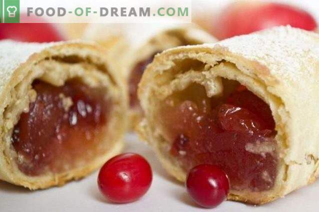 Wiener Cranberry-Strudel