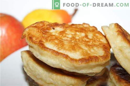 Krapfen sind die besten Rezepte. Wie man richtig und lecker köstliche Pfannkuchen kocht.