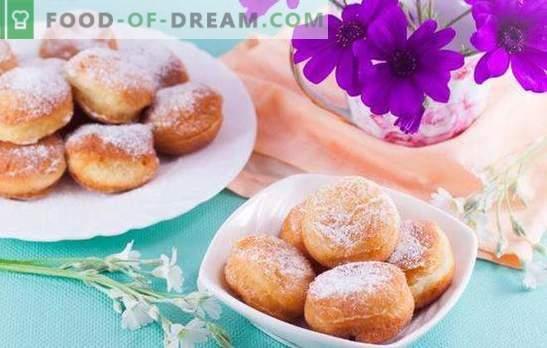 Für üppige Donuts in Schokolade oder Glasur - Hurra! Extrem einfache Delikatesse - üppige Donuts aus jeder Art von Teig