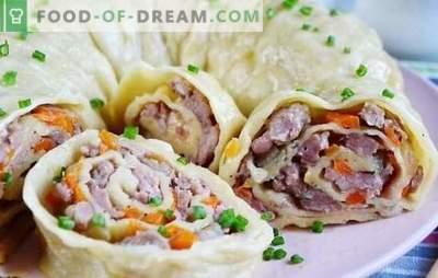Lazy Manti oder Khanum: Schritt für Schritt Rezepte mit Fleisch, Kartoffeln und anderem Gemüse. Wir bereiten das herzhafte Khanum für Schritt-für-Schritt-Rezepte vor