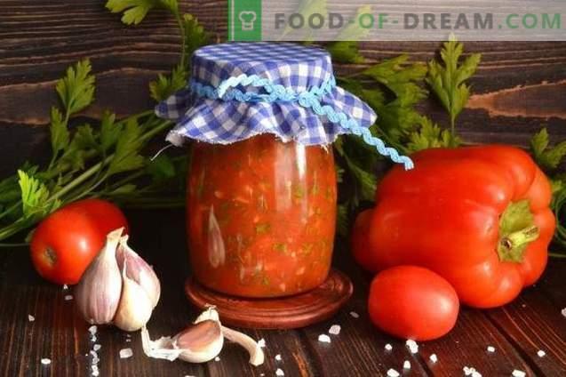 Lyutenitsa - bulgarische Pfeffer- und Tomatensauce