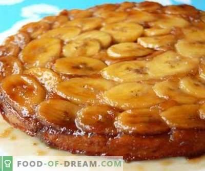 Bananenkuchen - die besten Rezepte. Wie man richtig und lecker Bananenkuchen kocht.
