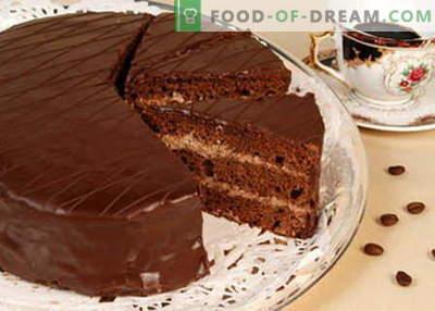 Cake Prague - die besten Rezepte. Wie man richtig und lecker Prager Kuchen kocht.