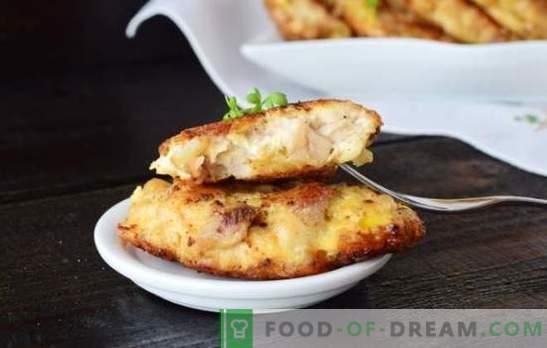 Hähnchenbrustkoteletts mit Mayonnaise - einfach, schnell und lecker! Rezepte für zarte und saftige Hähnchenbrustkoteletts mit Mayonnaise