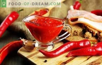 Wie man eine scharfe adjika für den Winter zubereitet: die Geheimnisse erfahrener Hausfrauen. TOP beste Rezepte für akute Adzhika für den Winter