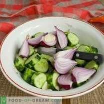 Salat für den Winter