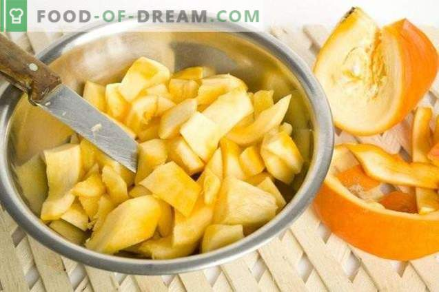 Kürbismarmelade mit Orangen