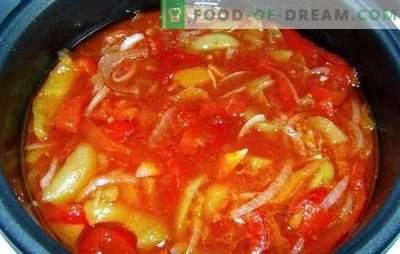 Lecho im Multicooker: Technologie, die uns hilft! Schnell, einfach, lecker: Die besten Lecho-Rezepte in einem Langsamkocher für den Winter: aus Tomaten und Paprika