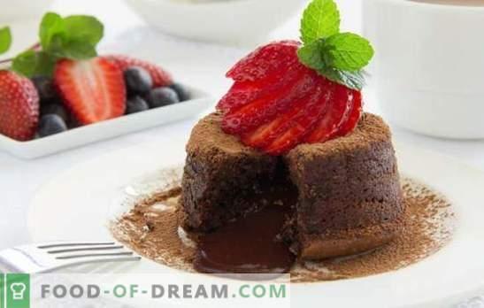 Schokoladenstimmung: mit Dessert - es ist einfach! Schokoladen-Dessert-Rezepte für alle Gelegenheiten: Käsekuchen, Log, Keks, Auflauf