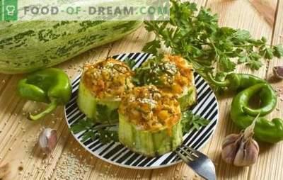 Wie man Zucchini schnell im Ofen kocht. Einfache Rezepte für leckere Zucchini aus dem Ofen: Auflauf, Rührei, Pizza und andere