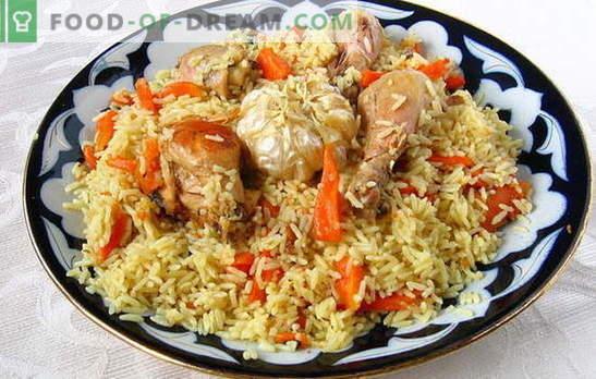 Wie man krümeligen Pilaw zubereitet, wie man Reis wählt und zubereitet. Krümeliger Pilaw - die Geheimnisse des Kochens der Welt