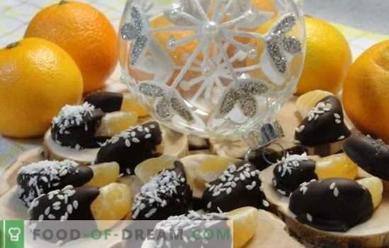 Schnelle und leckere Desserts mit Mandarinen