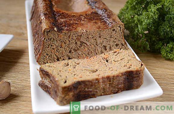 Leberauflauf: delikates und gesundes Diätgericht. Schritt für Schritt-Fotorezept des Autors mit Leberauflauf aus Hühnerleber