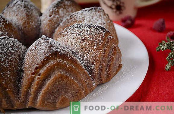 Kuchen für Marmelade: Eine Variation zum Thema Mager-Muffins mit Kokosmilch. Schritt für Schritt Foto-Rezept des Autors für einen einfachen Kuchen für Marmelade
