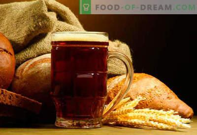 Hausgemachte Kwas: Brot, Roggen, Sauerteig, ohne Hefe - die besten Rezepte. Wie macht man Kwas zu Hause?