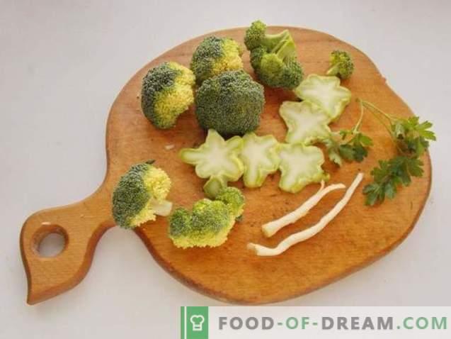 Brokkolisuppe mit Hackbällchen