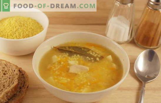 Feldsuppe mit Hirse: die Geheimnisse der Kosakenküche. Rezepte Suppe mit Hirse mit dem historischen