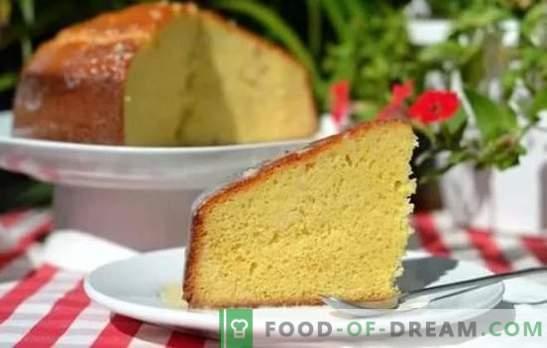 Gebrühter Biskuitkuchen - fühlen Sie sich wie ein echter Konditor! Rezepte für Vanillepudding-Biskuitkuchen und Desserts mit ihm
