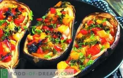 Nützliche Auberginen mit Pilzen im Ofen: Sie lecken sich die Finger! Auberginengericht mit Champignons und Käse im Ofen: Was könnte einfacher sein?