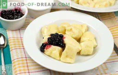 Faule Knödel mit Hüttenkäse - nicht nur zum Frühstück! Die erfolgreichsten Rezepte für faule Knödel mit Hüttenkäse: süß und salzig