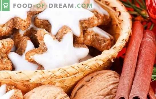 Glasur für Kekse: Ein Meisterwerk schaffen! Rezepte für verschiedene Glasuren für Kekse: Eiweiß, Schokolade, Zucker, Honig, Karamell