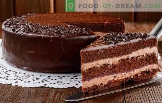 Espléndido pastel de Praga: recetas con fotos, preparación paso a paso. Una selección de recetas de los mejores pasteles de Praga con fotos