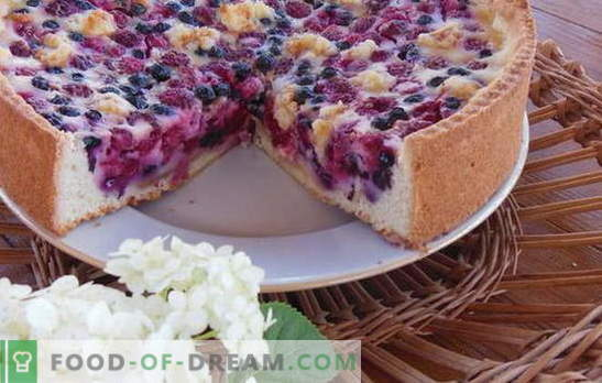 Bulk Pie auf Kefir - schnell, einfach und sehr lecker. Rezepte für Massekuchen auf Kefir: mit Fleisch, Käse, Fisch, Kirschen usw.