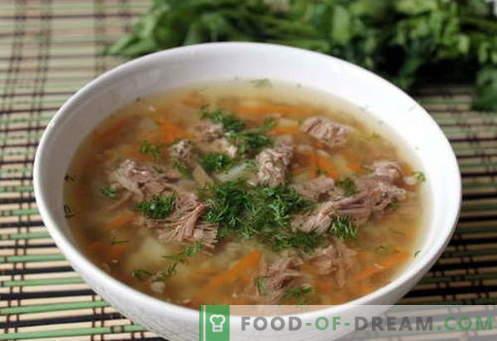 Buchweizensuppe - die besten Rezepte. Wie man Buchweizensuppe und lecker kocht
