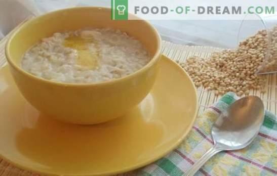 Weizenbrei in einem Multikocher ist die Grundlage einer gesunden Ernährung. Die besten Rezepte für Weizenbrei in einem Topftopf mit Wasser und Milch