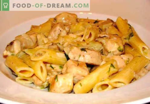 Multicooker-Nudeln sind die besten Rezepte. Wie man richtig und lecker Nudeln in einem langsamen Kocher zu Hause kocht.